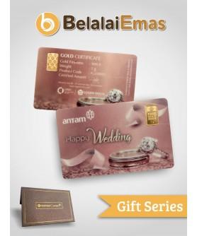 Antam Gift Series - 1 Gram Wedding Cincin