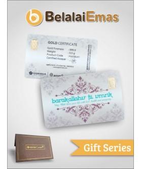 Antam Gift Series - 0,5 Gram Barakallahu Fii Umrik
