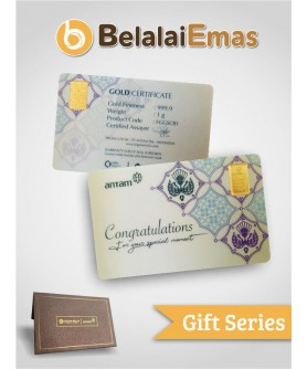 Antam Gift Series - 1 Gram Congratulation