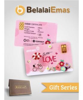 Antam Gift Series - 1 Gram With Love