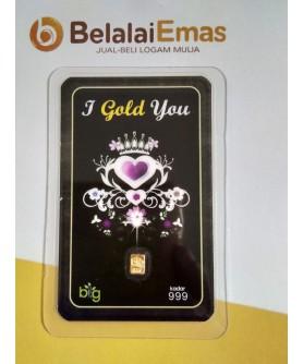 BigGold 0,1 gram - Edisi I Gold You