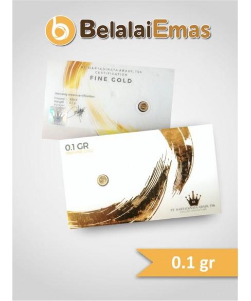 Hartadinata 0,1 Gram Corporate Edition