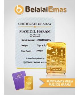 King Halim 5 Gram Masjidil Haram