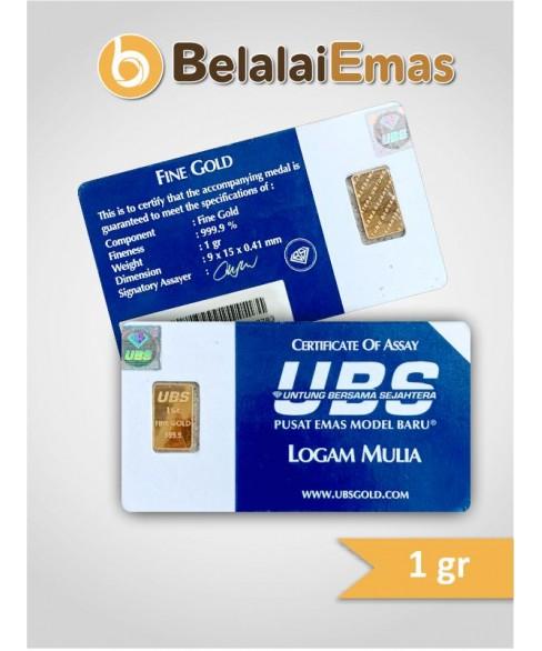 UBS 1 Gram Non SNI