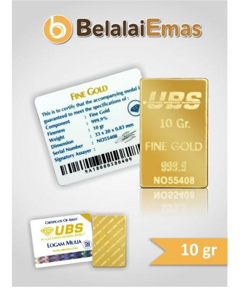 UBS 10 Gram SNI