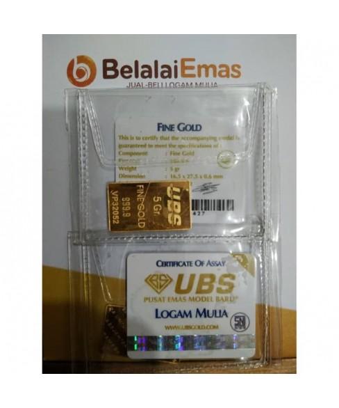 UBS 5 Gram SNI