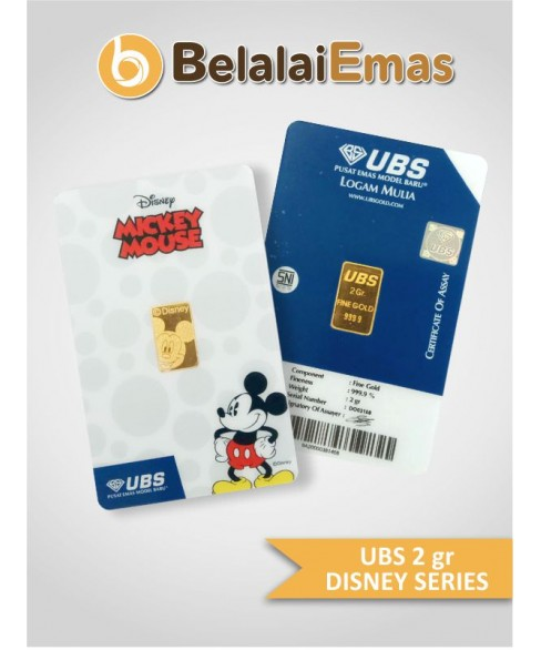 UBS 2 Gram Seri Disney Mickey Mouse