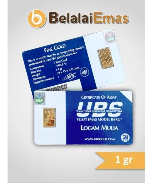 UBS 1 Gram SNI