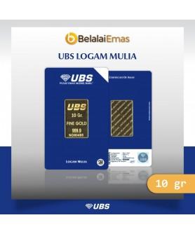Logam Mulia UBS 10 gram SNI Press